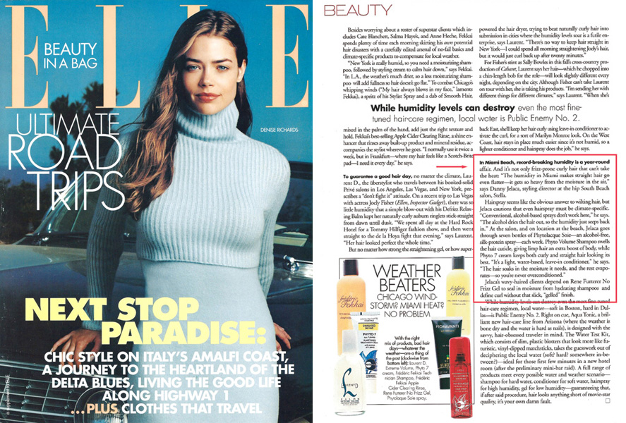 How to fight miami humidity Elle Beauty asks Danny Jelaca