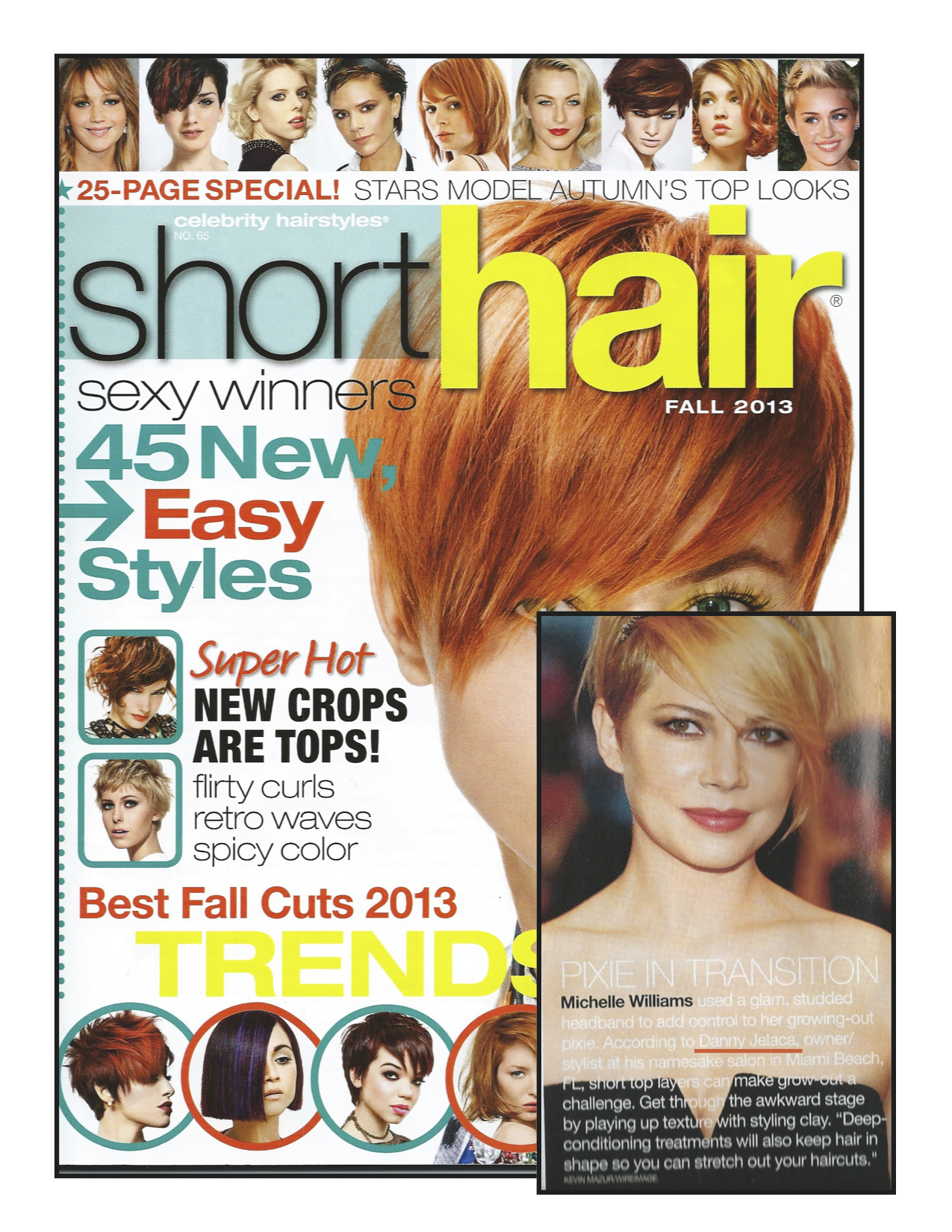 Danny Jelaca Haircuts According to Short Hair in Shot Hair Magazine
