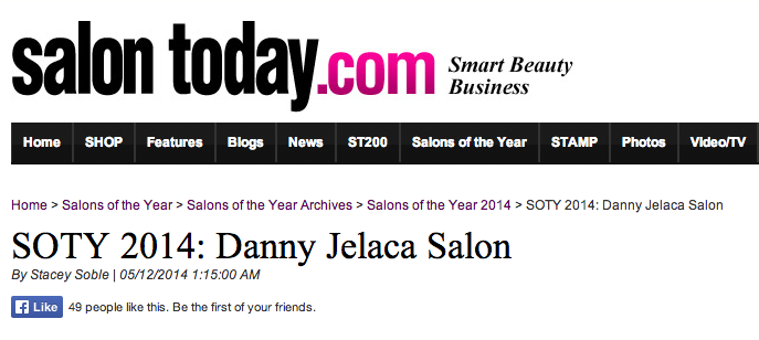 Danny Jelaca in Salon Today