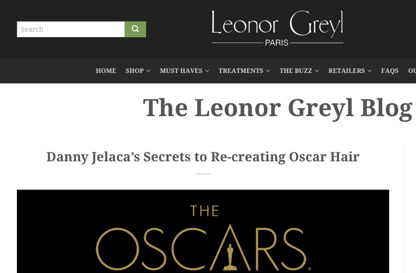 Danny Jelaca's Secrets to Re-creating Oscar Hair