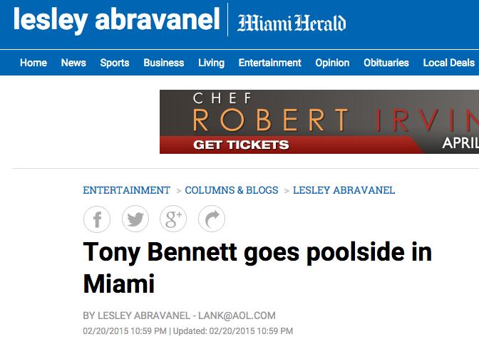 Danny Jelaca in The Miami Herald