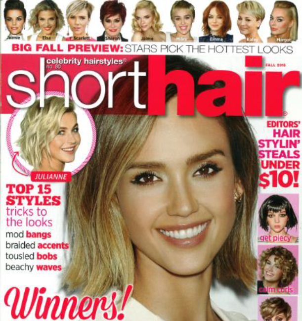 Top 15 Hair Styles Trick in Short Hair Magazine